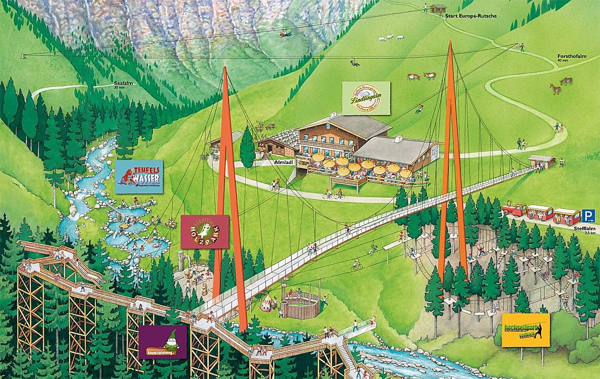 Talschluss - Saalbach Hinterglemm