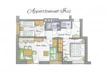 Alpen Hit Appartements Saalbach | Appartement Iris