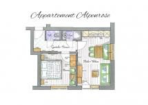 Alpen Hit Appartements Saalbach | Appartement Alpenrose